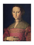 Portrait of Eleanor of Toledo, Wife of Grand Duke Cosimo I De' Medici, C1545 Giclee Print by Agnolo Bronzino