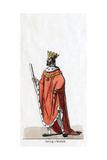 Duke of Norfolk, Costume Design for Shakespeare's Play, Henry VIII, 19th Century Giclee Print