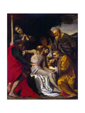 The Lamentation over Christ, C1586 Giclee Print by Agostino Carracci