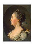 Portrait of Empress Catherine II, (1729-179), before 1762 Giclee Print by Vigilius Erichsen