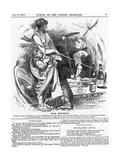 Rule Britannia, 1882 Giclee Print by Edward Linley Sambourne