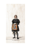 Lord Seal Keeper, Costume Design for Shakespeare's Play, Henry VIII, 19th Century Giclee Print