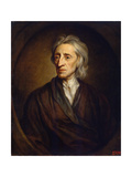 Portrait of the Physician and Philosopher John Locke, (1632-170), 1697 Giclee Print by Gotfrey Kneller