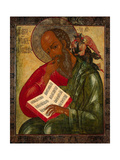 Saint John the Divine in Silence, 1769 Giclee Print by Nektary Kulyuksin