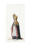 Bishop of Lincoln, Costume Design for Shakespeare's Play, Henry VIII, 19th Century Giclee Print