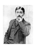 Marcel Proust, French Intellectual, Novelist, Essayist and Critic, Late 19th-Early 20th Century Giclee Print by  Otto