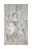 Portrait of Catherine of Braganza (1638-170), 1670S Giclee Print by Sir Peter Lely