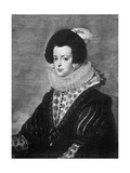 Elisabeth of Bourbon, Wife of King Philip IV of Spain, C1630 Giclée-Druck von Diego Velasquez