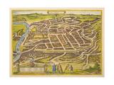 Vilnius (From Urbium Praecipuarum Mundi Theatrum Quintum by Georg Brau), 1580s Giclee Print by Frans Hogenberg