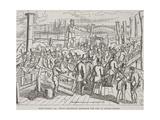 London Bridge, London, C1840 Giclee Print