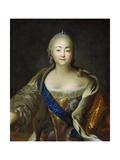 Portrait of Empress Elisabeth, 1750s-1760s Giclee Print by Ivan Petrovich Argunov