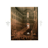 The Announcement of the Serfs Emancipation Manifesto in the Dormition Cathedral on March 5, 1861 Giclee Print by Vasily Timm