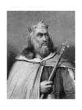 King Clotaire II of the Franks Giclee Print by  Weber