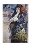 Carmencita (Portrait of Charlotte Berend-Corinth in Spanish Dres) Giclee Print by Lovis Corinth