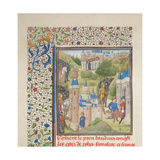 Baldwin of Boulogne Entering Edessa in February 1098 Giclee Print