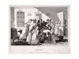 Heaving, 1816 Giclee Print by James Stephanoff