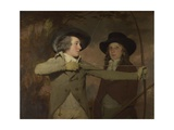 Robert Ferguson of Raith and Lieutenant-General Sir Ronald Ferguson (The Archer), C. 1789 Giclee Print by Henry Raeburn