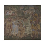 The Triumph of Chastity: Love Disarmed and Bound, 1509 Giclee Print by Luca Signorelli