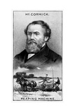 Cyrus Hall Mccormick, Irish American Farmer, Inventor, Businessman, and Marketer Giclee Print