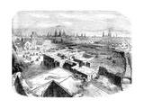 Mexico City, Mexico, Mid 19th Century Giclee Print
