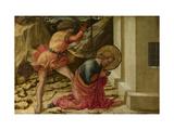 Beheading of Saint James the Great (Predella Panel of the Pistoia Santa Trinità Altarpiec), 1455-60 Giclée-tryk af Fra Filippo Lippi