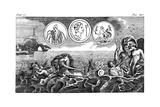 Roman God Neptune, 18th Century Giclee Print