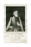 Sir Thomas Gresham, British Merchant and Financier, 16th Century Giclee Print