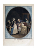 Congratulations on the Grandmother's Name-Day, 1788 Giclee Print by Philibert-Louis Debucourt