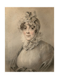 Portrait of Countess Anastasia Nikolaevna Shcherbatova (-181), Née Dolgorukova Giclee Print by Alexander Molinari