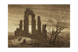 Winter - Night - Old Age and Death (From the Times of Day and Ages of Man Cycle), 1803 Giclee Print by Caspar David Friedrich