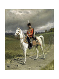 Portrait of Emperor Nicholas II (1868-191), 1907 Giclee Print by Alexander Vladimirovich Makovsky