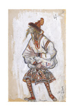 Costume Design for the Ballet the Rite of Spring (Le Sacre Du Printemp), 1912 Giclée-Druck von Nicholas Roerich
