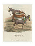 Rice Mill, 1813 Giclee Print