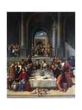 The Marriage at Cana, 1531 Giclee Print by Benvenuto Tisi Da Garofalo