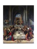 The Marriage at Cana, 1531 Giclee Print by Benvenuto Tisi Da Garofalo