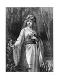 Ophelia, 1892 Giclee Print