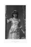 Mary Anderson, American Actress, C1895 Giclee Print
