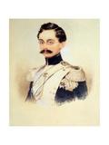 Portrait of Adolphe I, Duke of Nassau, Grand Duke of Luxembourg (1817-190), 1840S Giclee Print by Moritz Michael Daffinger