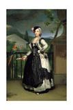 Portrait of Isabel Parreno Arce Ruiz De Alarcon Y Valdés, Marchioness of Llano Giclee Print by Anton Raphael Mengs