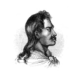 A Native of Tahiti, 1848 Giclee Print