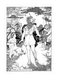 Bottom' in Scene from William Shakespeare's Midsummer Night's Dream, 1898 Giclee Print