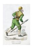 Huntsman, 16th Century (1882-188) Giclee Print by Edmond Lechevallier-Chevignard