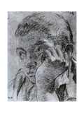 Head of a Youth, C1750-1753 Giclee Print by Giovanni Battista Tiepolo