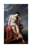 Sappho on the Lefkada's Cliff, Early 19th Century Giclee Print by Pierre Narcisse Guerin