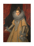 Portrait of Infanta Isabella Clara Eugenia of Spain (1566-163), C. 1598 Giclee Print by Frans Francken the Younger