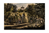 The Grand Caprice Pavilion in the Catherine Park of Tsarskoye Selo, Ca 1820 Giclee Print by Valerian Platonovich Langer