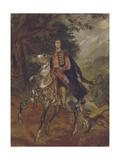 Portrait of Count Anatole Nikolaievich Demidov, 1st Prince of San Donato (1812-187), C. 1831 Giclee Print by Karl Pavlovich Briullov