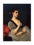 Portrait of Princess Elizabeth Vorontsova-Dashkova, 1873 Giclee Print by Alexandre Cabanel