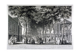 Marylebone Gardens, London, 1755 Giclee Print by John Donowell