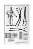 Surgery, 1751-1777 Giclee Print by Denis Diderot